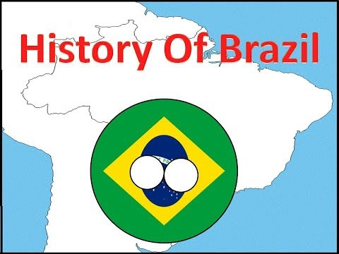 History of Brazil in Countryballs