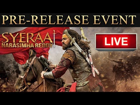 Download Sye Raa Narasimha Reddy Pre Release Event LIVE | Chiranjeevi, Ram Charan