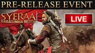 Sye Raa Narasimha Reddy Pre Release Event LIVE   Chiranjeevi, Ram Charan