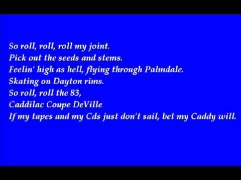 Afroman-Colt 45 (Lyrics)