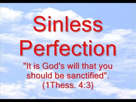 Sinless Perfection