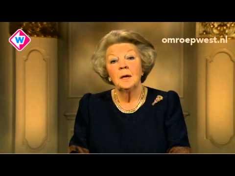 Afscheidsrede koningin Beatrix