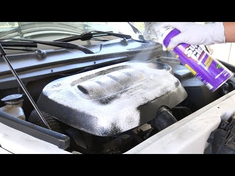 Super Clean Aerosol Can Complete Review - Engine, Tires, Wheels, Trim