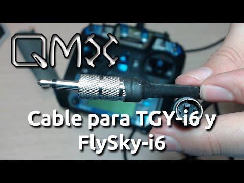 Cable para TGY-i6 y FlySky-i6 - Español