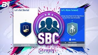 BASIC SQUAD BUILDING CHALLENGES w/ PLAYER PICK PACKS! | FIFA 19 ULTIMATE TEAM