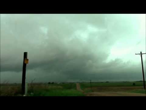 Possible Tornadic Supercell west of Superior Nebraska 5/6/2015