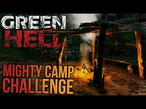 Green Hell - The Mighty Camp Challenge - Can We Build A GIANT Camp In 3 Days? - Green Hell Gameplay