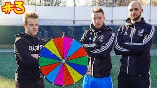 ⚽ FOOTBALL WHEEL CHALLENGE #3 - ENRY LAZZA vs I2BOMBER DEL FREESTYLE