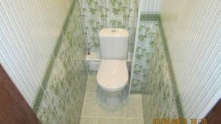 Дизайн и отделка туалета пластиком Бачетто. Секреты монтажа короба из пластика в туалете(ДИЗАЙН, РЕМОНТ И ОТДЕЛКА В УЛЬЯНОВСКЕ - https://www.youtube.com/user/themostfamousMASTER В видео рассматривается весь процесс..., 2015-04-21T14:58:30.000Z)