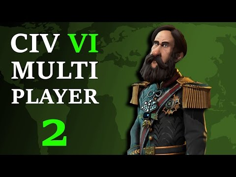 Civilization 6: Multiplayer Brazil - Episode 2 - Trump Gets Bullied
