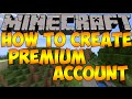 How to Create Minecraft Premium Account with Mineshafter mp3 indir
