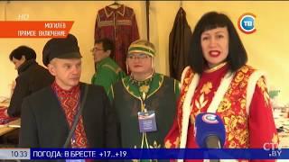 Выставка-ярмарка белорусских и российских ремесленников «Город мастеров» в Могилеве