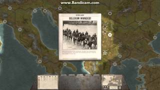 Commander - The Great War first couple of turns