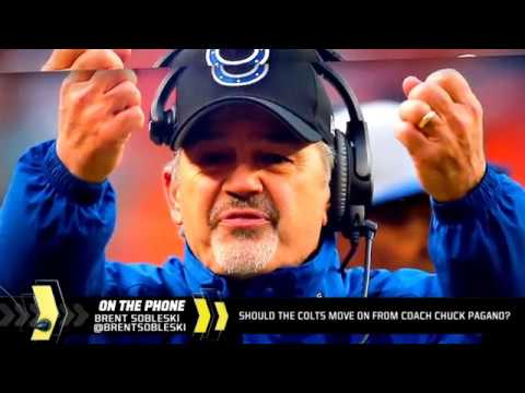 Should the Colts move on from coach Chuck Pagano?