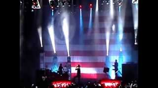Marilyn Manson - Intro + We're From America (Live) At Mayhem Festival In Atlanta,GA (07-24-09)