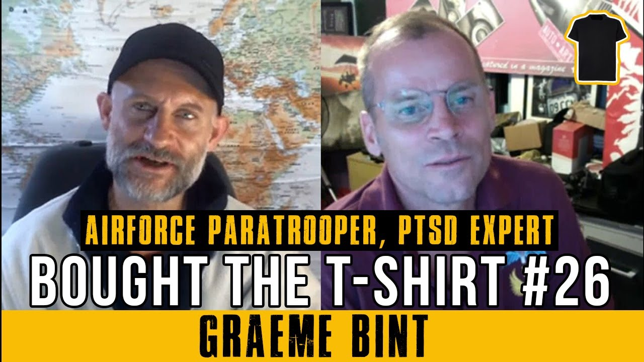 #26 Graeme Bint - Sham Wars, Media Mind Control and Supporting Veterans With PTSD