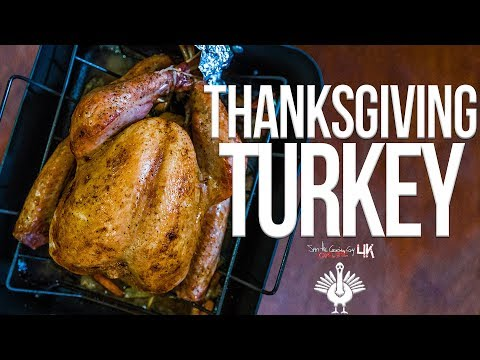 The Best Way To Cook A Thanksgiving Turkey | SAM THE COOKING GUY 4K