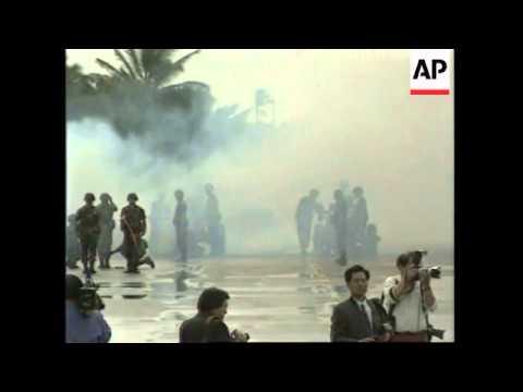 USA: HAWAII: JIANG ZEMIN ARRIVES FOR OFFICIAL VISIT