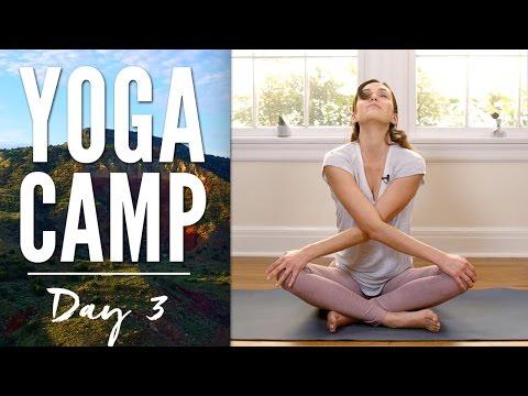 Yoga Camp Day 3 - I Embrace
