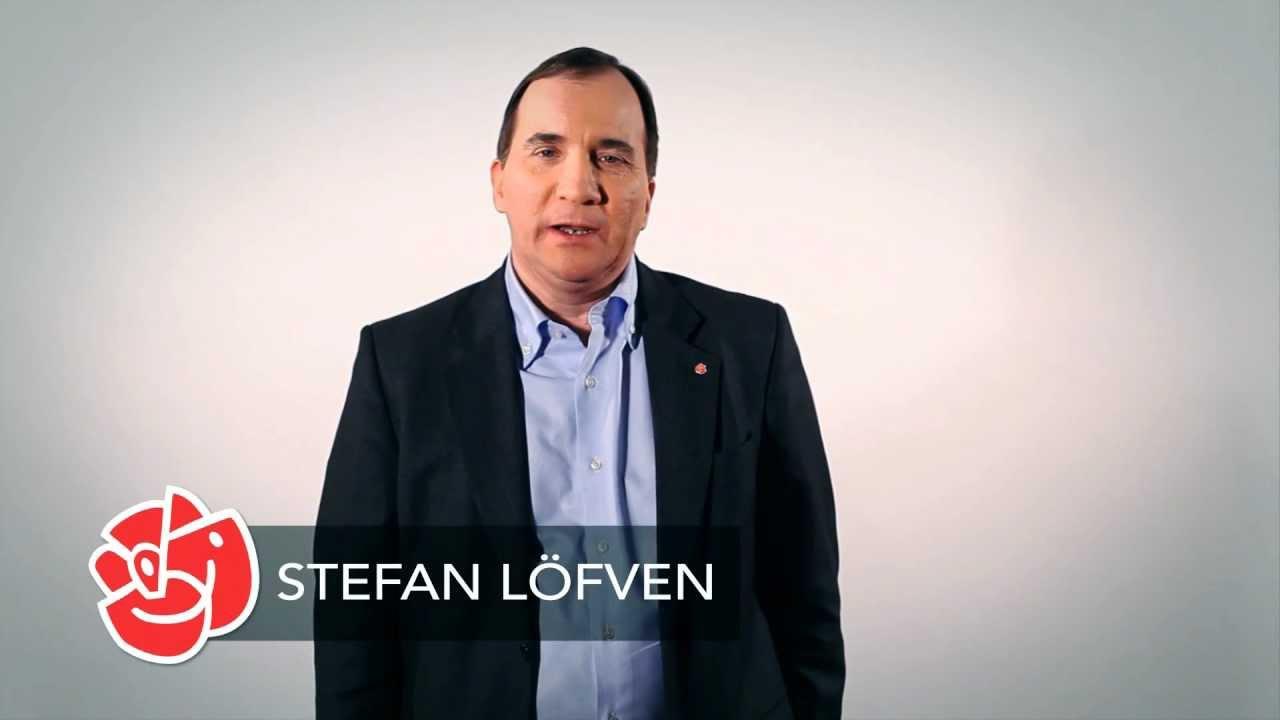 Stefan Löfven talar till medlemmarna - YouTube