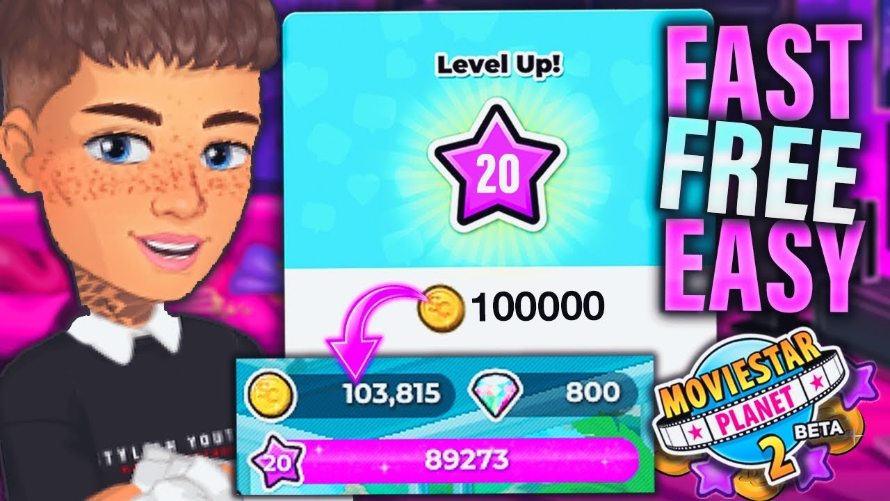 How To Earn Fame Starcoins On Moviestarplanet 2 Fast Free In 2020 Max Level On Msp 2 Youtube