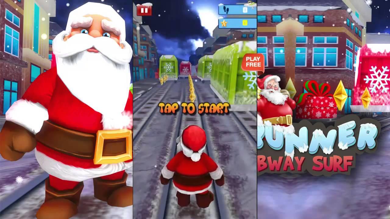 santa runner xmas subway surfer android gameplay hd - Subway Christmas Eve Hours