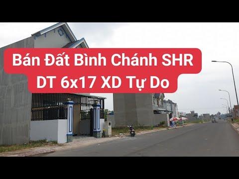 Bán Đất Bình Chánh Trả góp DT 6×17 SHR | LH 0906485209