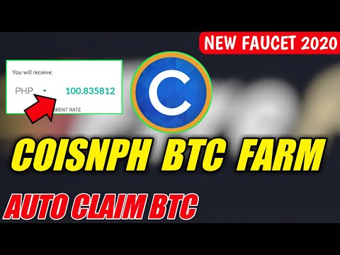 New CoinsPh Btc Farm Or Mining | Auto Claim Btc | Free And Legit | 2020