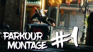 WATCH DOGS 2: ULTRA REALISTIC SMOOTH PARKOUR LINES MONTAGE (WD2 Parkour Montage 1)