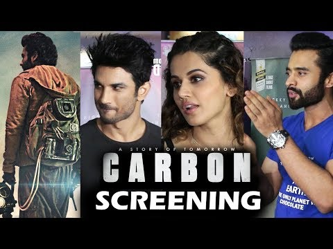 Carbon Movie Special Screening | Sushant Singh Rajput, Taapsee Pannu, Jackky Bhagnani,