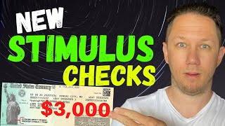 JUST APPROVED: $3000 STIMULUS CHECKS! Second Stimulus Check Update