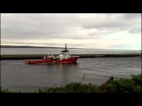 An Oilfield Supply Vessel