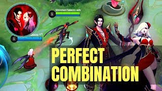 TWILIGHT BUT BEST LOVE STORY | CECILION X CARMILLA COMBINATION IS UNSTOPPABLE | Mobile Legends