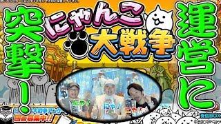 【にゃんこ大戦争】コロコロ担当記者(猫)が運営 ポノスに突撃!