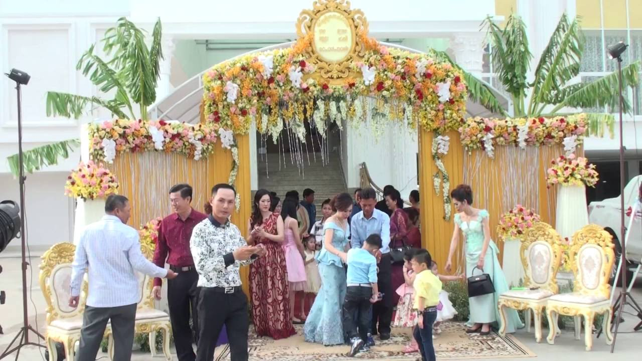 Asian Wedding Party Reception Cambodian
