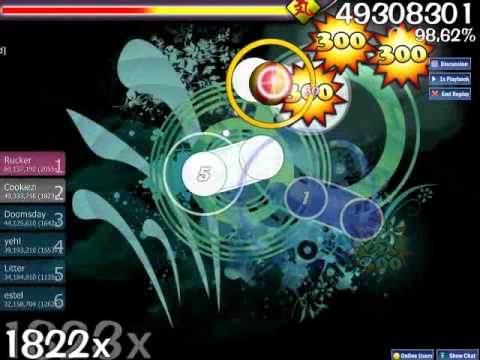 Osu! DragonForce - Revolution Deathsquad (Legend). Performed by Cookiezi