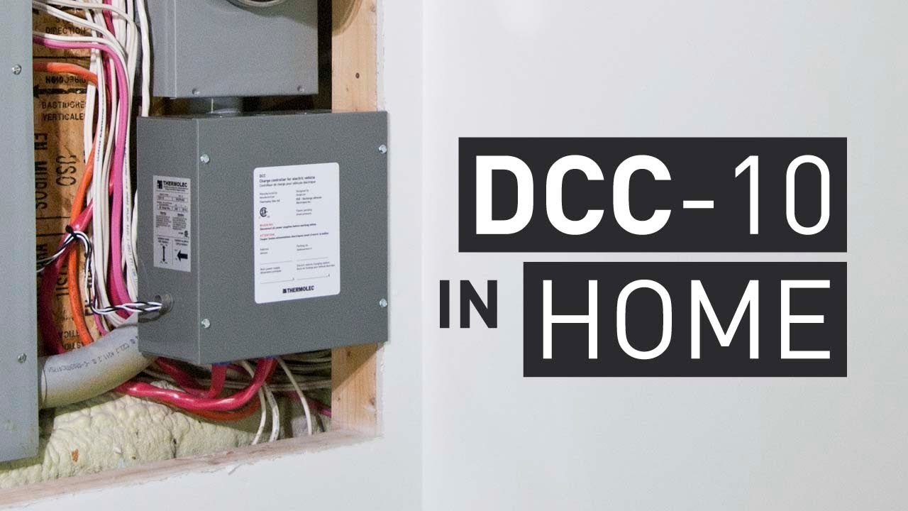 dcc 10 avoids major home electrical upgrades for an ev charging installation [ 1280 x 720 Pixel ]
