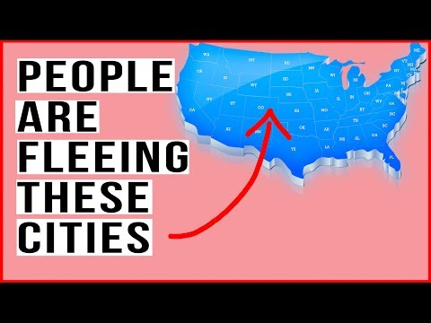 People Are Fleeing THESE Cities In Record Numbers! Mass Exodus Is Happening Now!