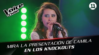 The Voice Chile | Camila Gallardo - The Scientist
