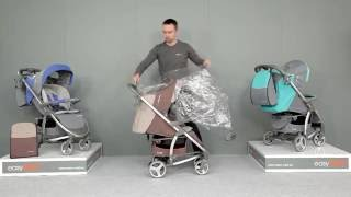 Buggy von easyGO: Der sportliche Kinderwagen Virage und seine Funktionen