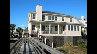 Folly Beach Vacation Rental Blue Waters 615 West Ashley Ave