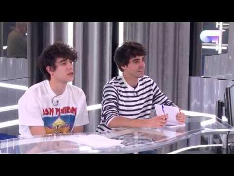 Clase de Alfred con los Javis, Manu y Capde (27 ENE)   OT 2017