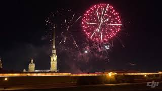 Новогодний салют-фейерверк 2020 в Санкт-Петербурге