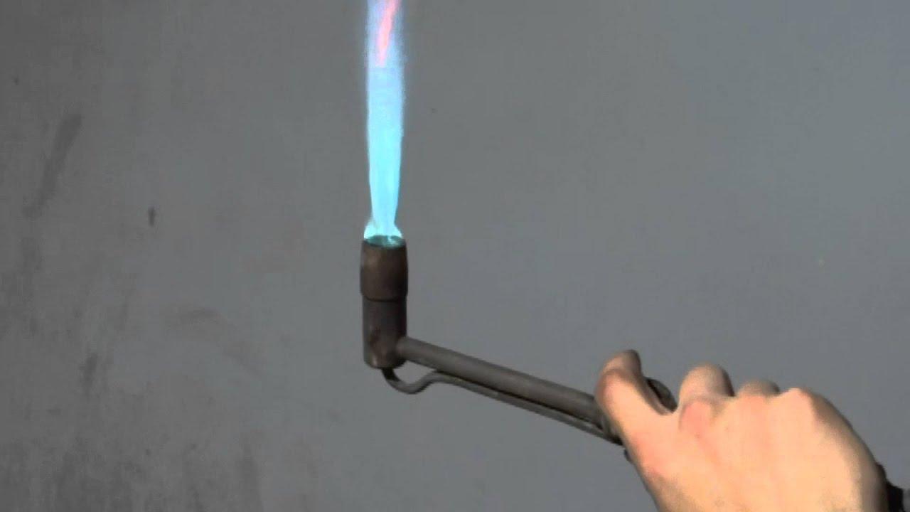 Газовая инжекционная горелка ГП-1 - YouTube