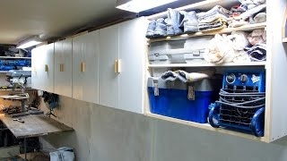 Making Shop Cabinets From Scrap