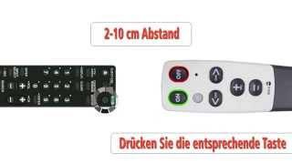 Produktvideo zu Lernfähige Großtasten-Fernbedienung Doro HandleEasy 321