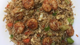 Prawn Fried Rice | Shrimp Fried Rice | Restaurant Style | Fast Food | Easy Cooking