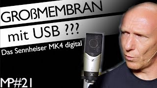 Großmembran mit USB: Das Sennheiser MK 4 digital | Mix Tutorial Deutsch | Recording-Blog #21