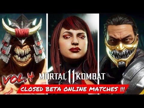 MORTAL KOMBAT 11 CLOSED BETA ONLINE GAMEPLAY !!! Vol. 4 thumbnail