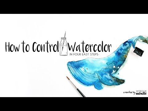 4 Easy Steps to Watercolor Control